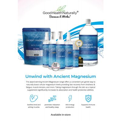 Ancient Magnesium A4 poster