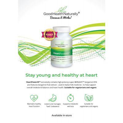 HeartPower45 A4 poster