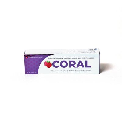Coral NanoSilver Bubble Berry Toothpaste 4oz - RRP £9.95