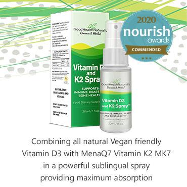 Vitamin D3 and K2 Spray