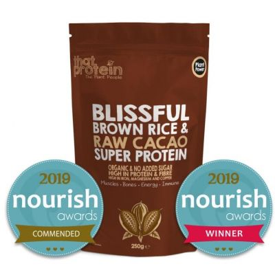 Super Protein Powder - Blissful Brown Rice and Raw Cacao 250gm