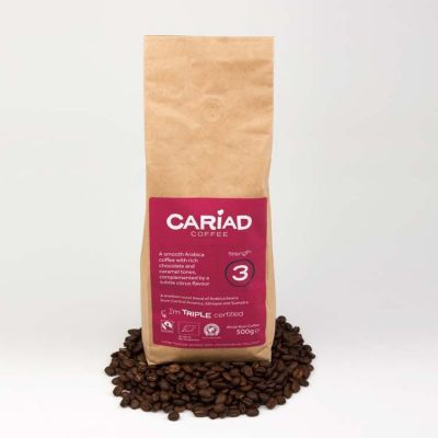 Cariad Coffee Whole Bean 500g