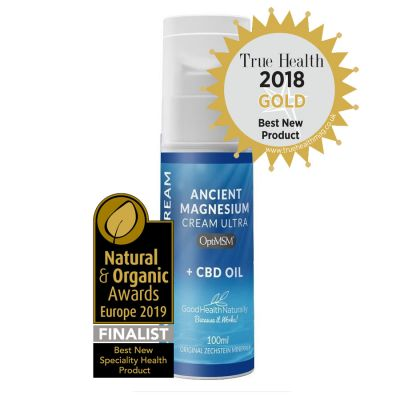 Ancient Magnesium Cream with CBD Oil 100ml