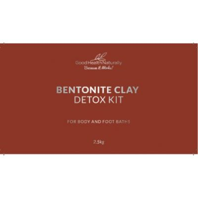Bentonite Clay Bath Toxin Detox Kit – 2.5kg - RRP £39.95