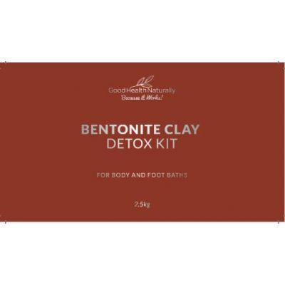 Bentonite Clay Bath Natural Detox Kit – 2.5kg - RRP £29.95