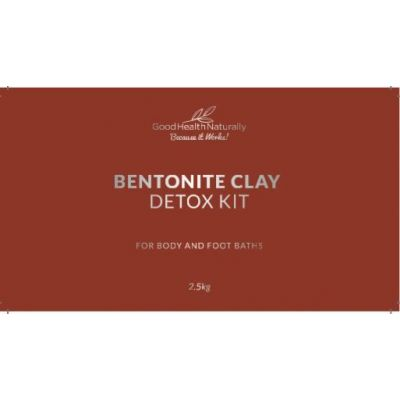 Bentonite Clay Bath Mercury Detox Kit – 2.5kg - RRP £39.95