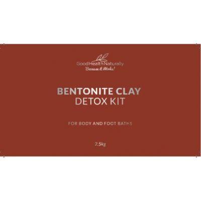 Bentonite Clay Bath Mercury Detox Kit – 2.5kg - RRP £39.95