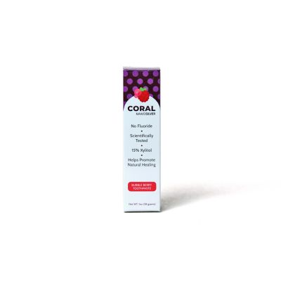 Coral NanoSilver Bubble Berry Toothpaste 1oz - RRP £4.95
