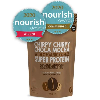Super Protein Powder – Chirpy Chirpy Choca Mocha 250gm