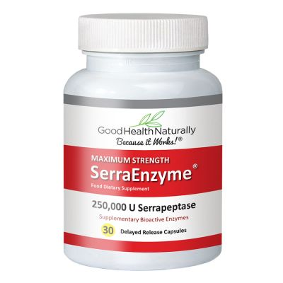 Serra Enzyme™ 250,000IU Maximum Strength - 30 Capsules