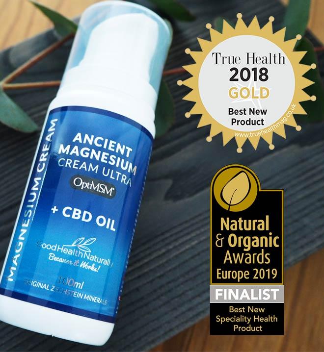 Ancient Magnesium Cream with CBD oil