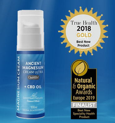 Ancient Magnesium Cream with CBD oil