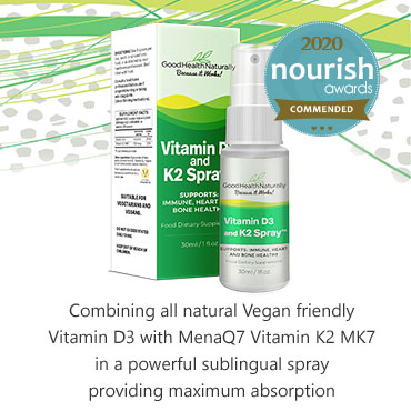 Vitamin D3 and K2 Spray
